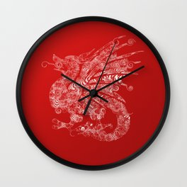 dragon 3 Wall Clock
