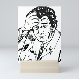 Lieutenant Columbo Portrait Mini Art Print