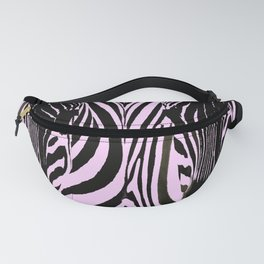 Always together - Two Zebras - illustration - fun - #society6 #buyart Fanny Pack