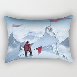 Too Late Rectangular Pillow