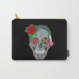Lady Skull ready to party Carry-All Pouch