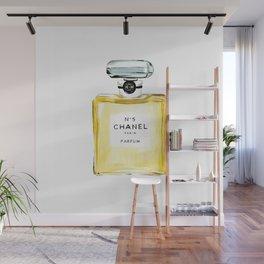 Yellow Perfume Wall Mural