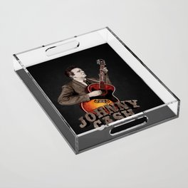 Johnny Cash Acrylic Tray