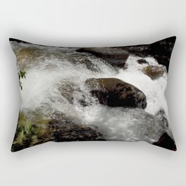 A Place to Contemplate, on Fall Creek Rectangular Pillow