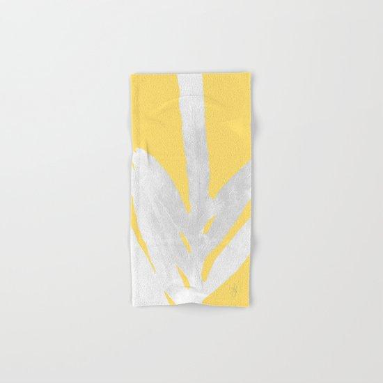Ferns and Tangerines Hand & Bath Towel