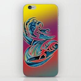 Surfing iPhone Skin