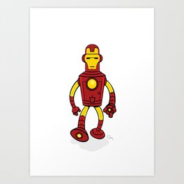 Iron Bender Art Print