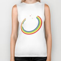 trippy Biker Tanks featuring Epic Combo #23 by Jonah Makes Artstuff