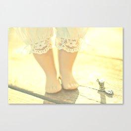 Alice's Escapades ~ Alice & The Thread Canvas Print