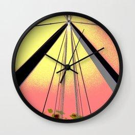 We Come In Peace II Wall Clock