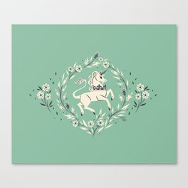 The Stirling Unicorn Canvas Print