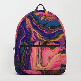 Painted Psychedelic Backpack