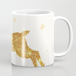 Golden Deer Coffee Mug