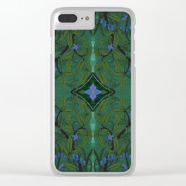 Branch and Bluebell Clear iPhone Case