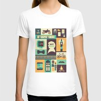 risa rodil T-shirts featuring Empty Hearse by Risa Rodil