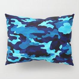 Camouflage (Blue) Pillow Sham