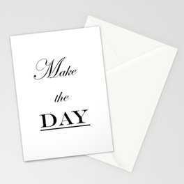 Make the Day Stationery Cards
