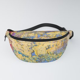 Flaking paint in Valparaiso Fanny Pack