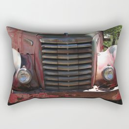 GMC, GMC Truck Grill, Old Truck Rectangular Pillow
