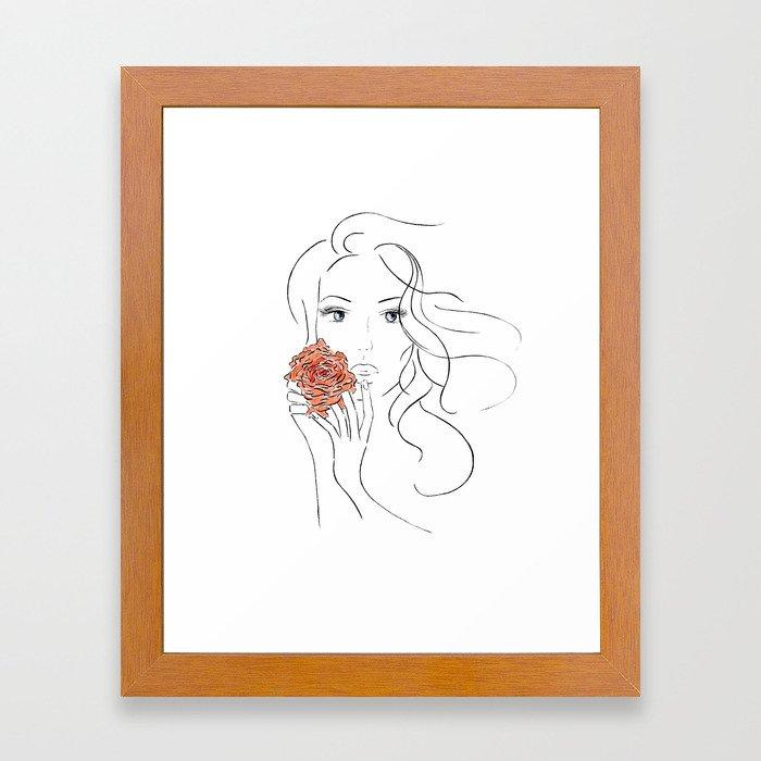 Beauty Blossom Framed Art Print