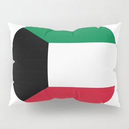 Kuwait flag Pillow Sham