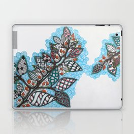 Colorful Patterned Leaves Laptop & iPad Skin