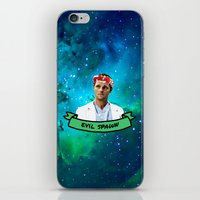 spawn iPhone & iPod Skins featuring Evil Spawn by drmedusagrey