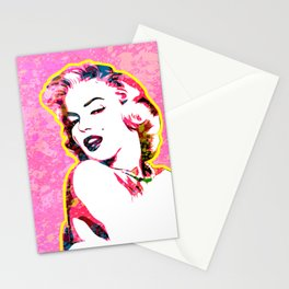 Marilyn | Splatter Series | Monroe | Pop Art Stationery Cards