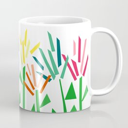 Tropical Rainbow Collage by Emma Freeman Coffee Mug