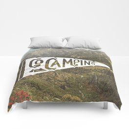 Go Camping Comforters