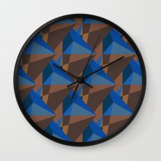Earth Diamonds Wall Clock