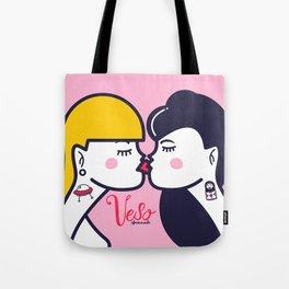 Kiss (Part II) Tote Bag