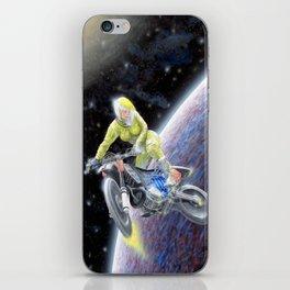 Space Motocross iPhone Skin