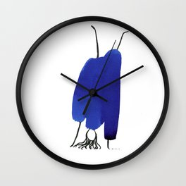 How to be a girl #3 Wall Clock