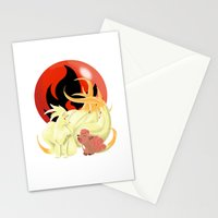 Of Many Tails Stationery Cards