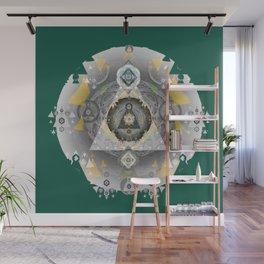 Sacred Mandala of Truth Sacred Geometry Art Print Wall Mural