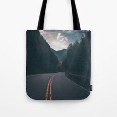 Road #Trees Tote Bag