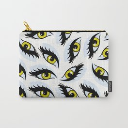 eyes pattern Carry-All Pouch