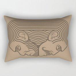 agreement Rectangular Pillow