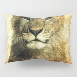 Blue eyed Lion Pillow Sham