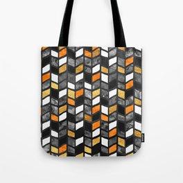 Fall Herringbone Tote Bag