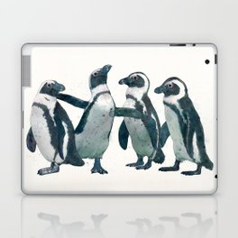 penguin party Laptop & iPad Skin