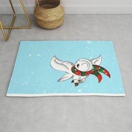 Snowy Flight Rug