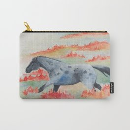 Indian Paintbrush Dakota Horse Carry-All Pouch