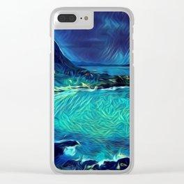 Emerald Coast Clear iPhone Case