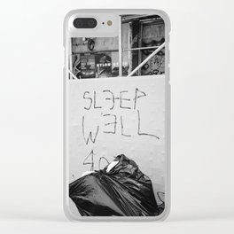 The City That Never Sleeps Clear iPhone Case