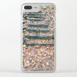 Path to Redemption Clear iPhone Case