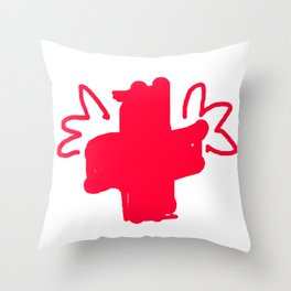RED Untergaarden Angel Throw Pillow