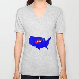 State of Colorado Unisex V-Neck