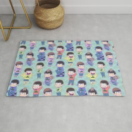 The Sextuplets Rug
